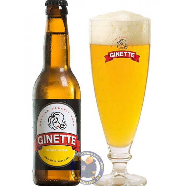 Buy-Achat-Purchase - Ginette Natural Blond 5° - 1/3L - Special beers -