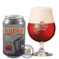 Buy-Achat-Purchase - Belle-Vue Kriek 5.2° - 33Cl - Can - Geuze Lambic Fruits -