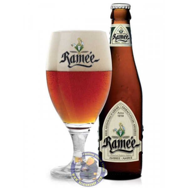 Buy-Achat-Purchase - La Ramée Amber 7.5° - 1/3L - Abbey beers -