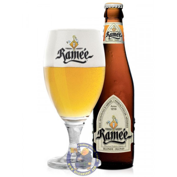 Buy-Achat-Purchase - La Ramée Blonde 7.5° - 1/3L - Abbey beers -