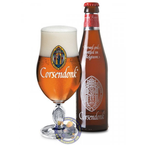 Buy-Achat-Purchase - Corsendonk Rousse 8% - 1/3L - Abbey beers -