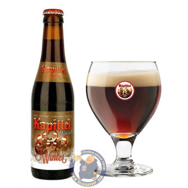 Buy-Achat-Purchase - Het Kapittel Watou Winter 7.5° - 1/3L - Christmas Beers -