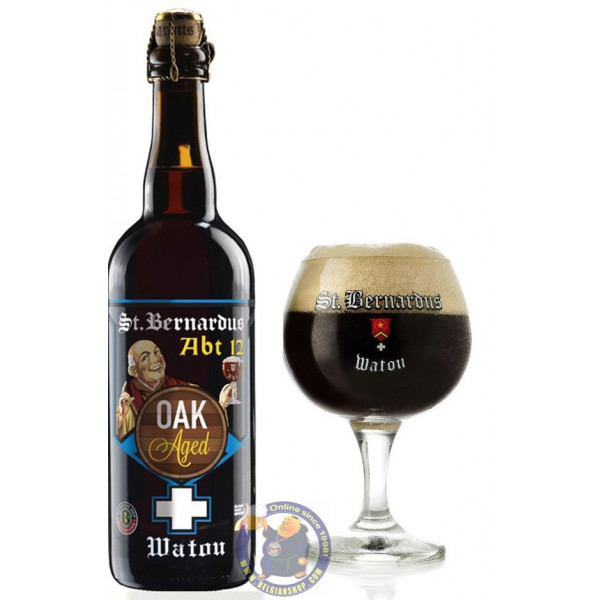 St Bernardus Abt 12 OAK Aged 11° -3/4L - Trappist beers -
