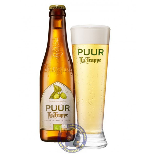 Buy-Achat-Purchase - La Trappe Puur 4.5° - 1/3L  - Trappist beers -