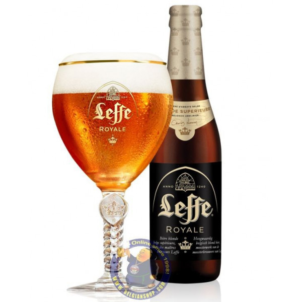 Leffe Royale 7,5° - 1/3L - Abbey beers - Leffe