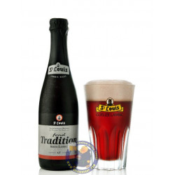 St. Louis Fond Tradition Kriek Lambic 6.5° -37,5cl - Geuze Lambic Fruits -