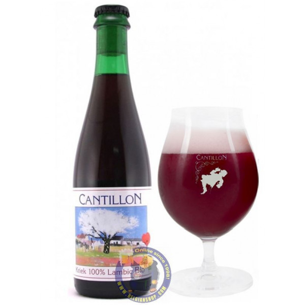 Cantillon Kriek 5°-37,5CL -V - Geuze Lambic Fruits -