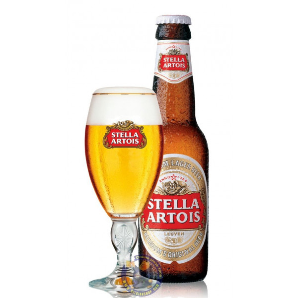 Buy-Achat-Purchase - Stella Artois 5.2° - 1/4L - Pils -