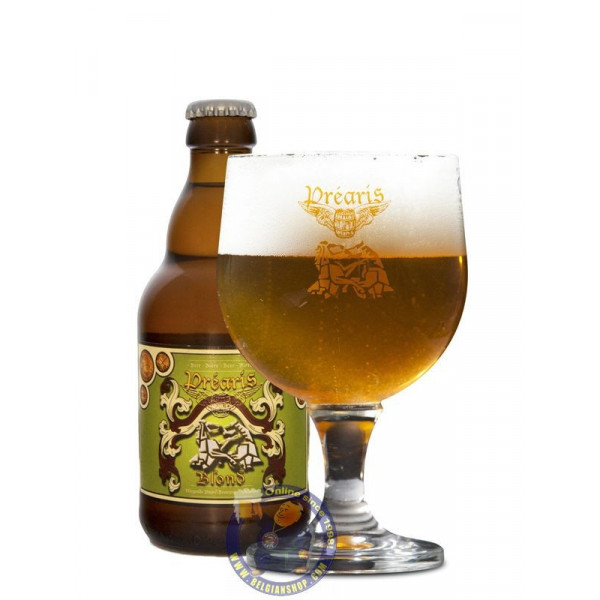 Buy-Achat-Purchase - Prearis Blond 6° - 1/3L - Special beers -