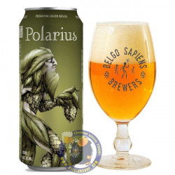 Buy-Achat-Purchase - Belgo Sapiens Polarius 5° - 50CL CAN - Pils -