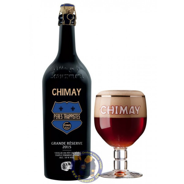 Buy-Achat-Purchase - CHIMAY GRANDE RÉSERVE 2015 OAK AGED 75CL - Trappist beers -