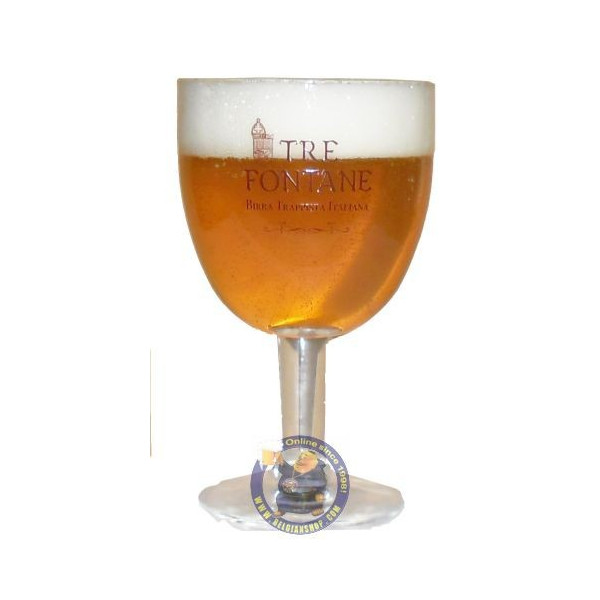 Buy-Achat-Purchase - Tre Fontane Trappist Glass - Glasses -