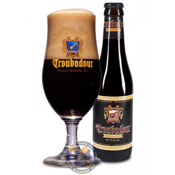 Buy Online Troubadour Imperial Stout 9° - 1/3L - Belgian Shop - Del...