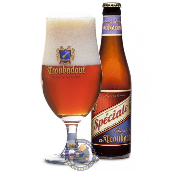 Buy-Achat-Purchase - Troubadour Speciale 5.7° - 1/3L - Special beers -