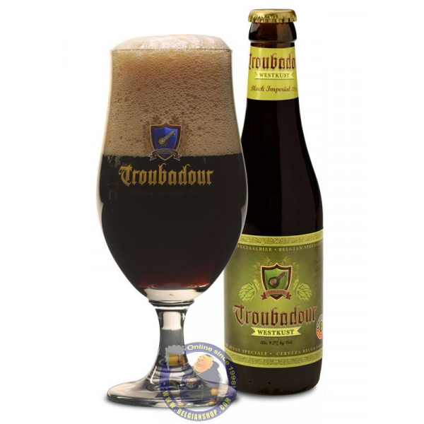 Buy-Achat-Purchase - Troubadour Westkust 9.2° - 1/3L - Special beers -