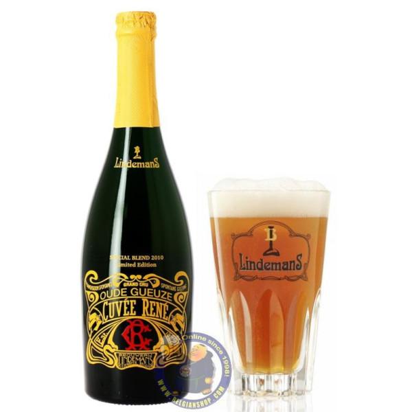 Buy-Achat-Purchase - Lindemans Oude Gueuze Cuvée René Special Blend 2010 - Geuze Lambic Fruits -