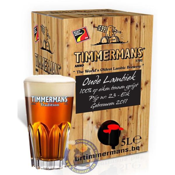 Timmermans Oude Lambiek - 5 L - Geuze Lambic Fruits -