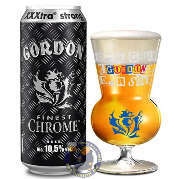 Gordon Finest Chrome 10.5° - Can 50cl - Special beers -