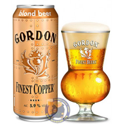 Buy-Achat-Purchase - Gordon Finest Copper 5.9° - Can 50cl - Special beers -