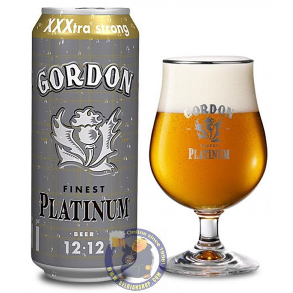 Buy-Achat-Purchase - Gordon Finest Platinum 12° - Can 50cl - Special beers -
