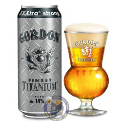 Buy-Achat-Purchase - Gordon Finest Titanium 14% - Can 50cl - Special beers -