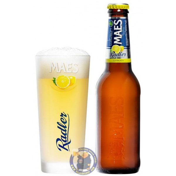 Maes Radler Citron 2° - 1/4L - White beers -