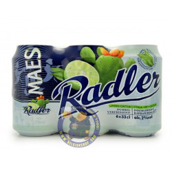 Buy-Achat-Purchase - Pack Maes Radler Lime-Cactus 2° - 6 X 33cl CAN - Beer Cans -