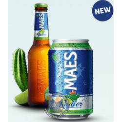Pack Maes Radler Lime-Cactus 2° - 6 X 33cl CAN - Beer Cans -