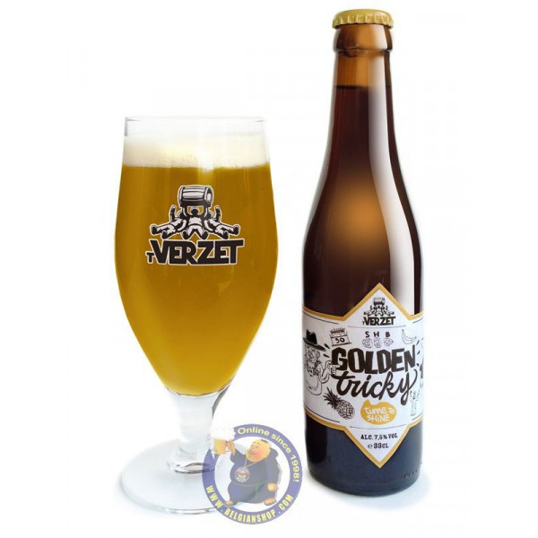 Buy-Achat-Purchase - Verzet Golden Tricky 7.5° -1/3L - Special beers -