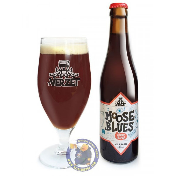 Buy-Achat-Purchase - Verzet Moose Blues 7.5° - 1/3L - Special beers -