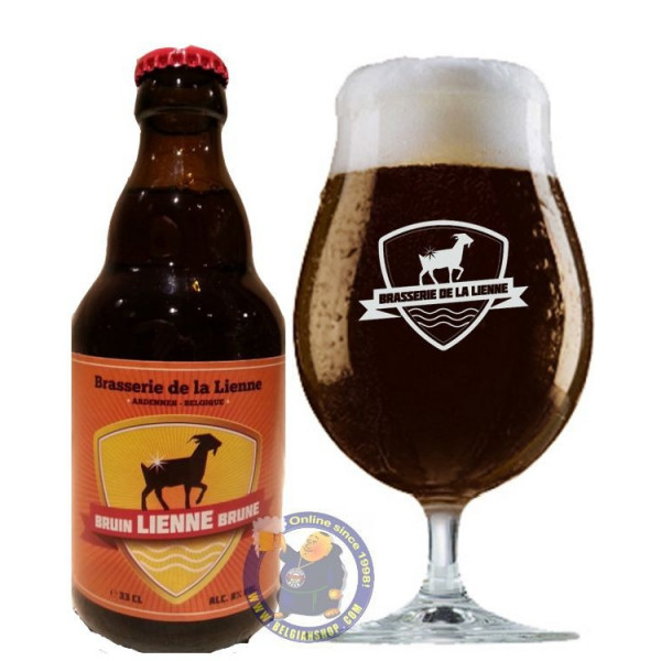 Buy-Achat-Purchase - Lienne Brune 8° - 1/3L - Special beers -