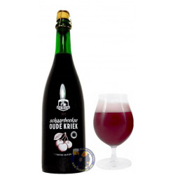 Buy-Achat-Purchase - Oud Beersel Schaarbeekse Oude Kriek 7.8° -3/4L - Geuze Lambic Fruits -