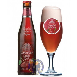 Buy-Achat-Purchase - Corsendonk Dubbel Kriek 8.7° - 1/3L - Geuze Lambic Fruits -