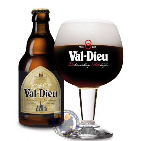 Buy-Achat-Purchase - Val Dieu Grand Cru 10.5° - 1/3L - Abbey beers -