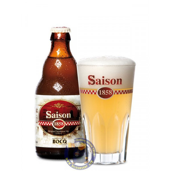 Buy-Achat-Purchase - De Bocq Saison 1858 - 6.4° - 1/3L - Season beers -
