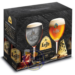 Buy-Achat-Purchase - Pack Leffe Beers 33Cl + 2 Glasses - Home -