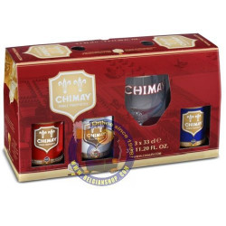 Pack Chimay 4X33 Cl + 1 Glass - Home -