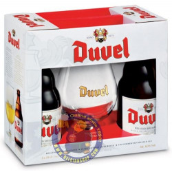 Pack Duvel 2 bottles & 1 glass - Home -