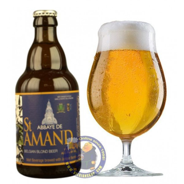 Buy-Achat-Purchase - Abbaye de Saint Amand 7° - 1/3L - Abbey beers -