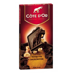 Buy-Achat-Purchase - Cote d'Or Dark Hazelnuts-Noir Noisettes 180g - Cote d'Or - Cote D'OR