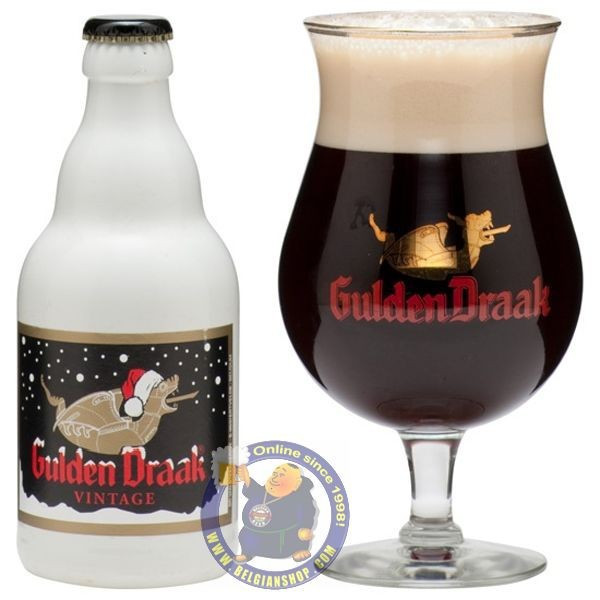 Buy-Achat-Purchase - Gulden Draak Vintage 7,5° - 1/3L - Christmas Beers -