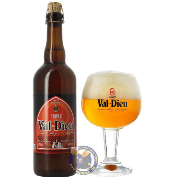 Buy-Achat-Purchase - Val Dieu Triple 9°-3/4L - Abbey beers -