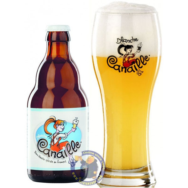 Buy-Achat-Purchase - Grain d'Orge Canaille 5.4° - 1/3L - White beers -