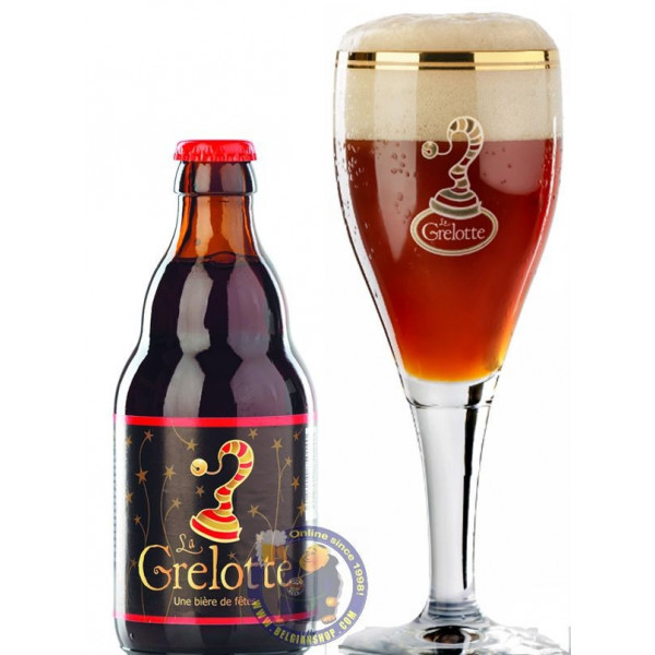 Buy-Achat-Purchase - Grain d'Orge La Grelotte 9°-1/3L - Christmas Beers -