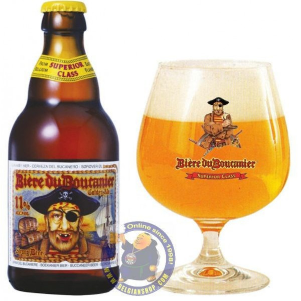 Buy-Achat-Purchase - Boucanier Blonde 11°-1/3L - Special beers -