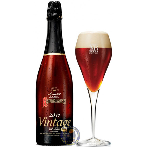 Buy-Achat-Purchase - Rodenbach Vintage 2011 7°- 37,5 cl - Flanders Red -