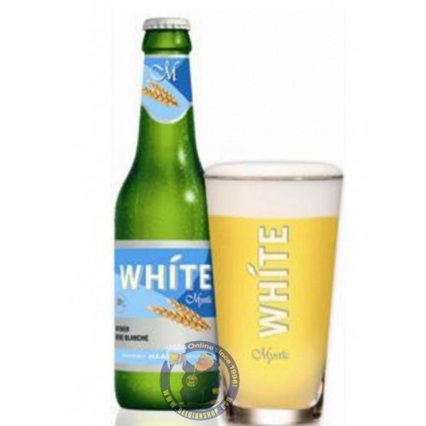 Blanche White de Haacht 4.8° - 1/4L - White beers -