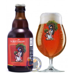 Botteresse Amber 8,5° - 1/3L - Special beers -