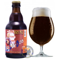 Buy-Achat-Purchase - Sur les Bois Bruin 8,5° - 1/3L  - Special beers -