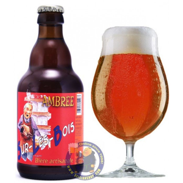 Buy-Achat-Purchase - Sur les Bois Amber 8° - 1/3L - Special beers -
